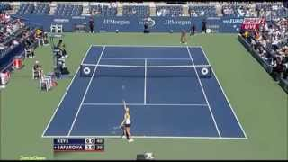 Madison Keys vs Lucie Safarova 2011 US Open Highlights