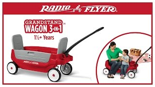 Radio Flyer Grandstand Wagon 3-in-1™