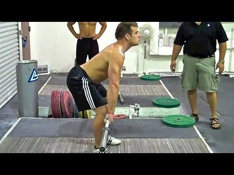 Clean, Part 2, How To, Olympic Weightlifting Image 1
