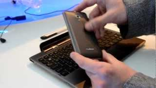 Превью гибридного смартфона Asus Padfone от Droider.ru [MWC 2012]