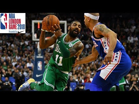 Kyrie Irving and Jaylen Brown are LIVE FROM LONDON | NBA London Game 2018 Presser