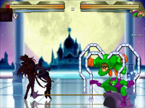 MUGEN Sailor Moon and Sailor Venus vs Dr. Octopus and Green Goblin