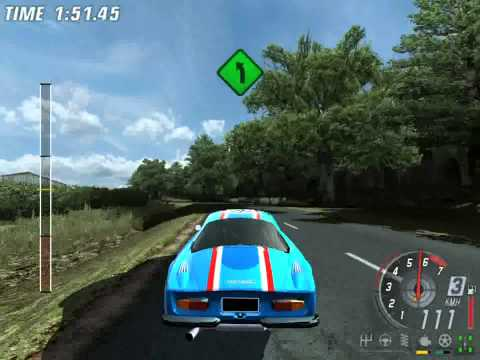 TOCA Race Driver 3 Classic Rally with Renault Alpine A110 test