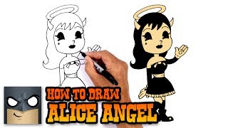 How to Draw Alice Angel | Bendy and the Ink Machine