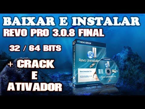 Como Baixar e Instalar - Revo Uninstaller Pro 3.0.8 Final (32-64 Bit)