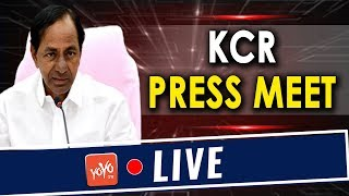 CM KCR Press Meet LIVE | Chairman and Members of 15th Finance Commission at Jubilee Hall