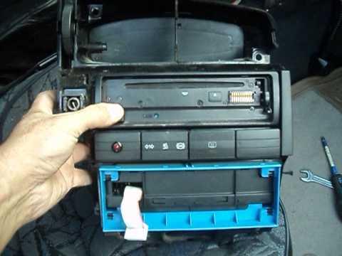 VW-B4 замена радиатора печки-3