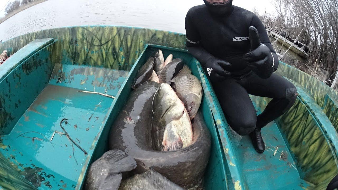 подводная рыбалка на ветлуге