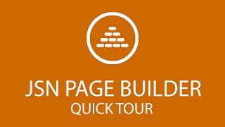 JSN PageBuilder | Quick Tour