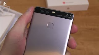 Huawei P9 Unboxing and Impressions