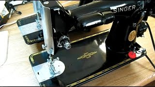 Direct-Drive Vintage Singer Sewing Machines, 201-2 vs 15-91