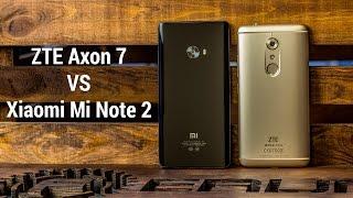 """ZTE Axon 7 VS Xiaomi Mi Note 2. Сравнение флагманских фаблетов или """"новее"""", не значит """"лучше"""""""