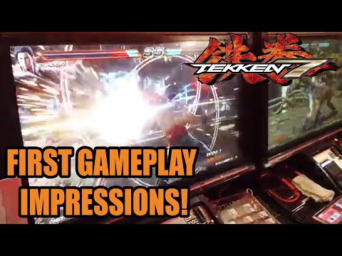 Tekken 7 First Gameplay - Rage Arts, Power Crush, Claudio, Katarina