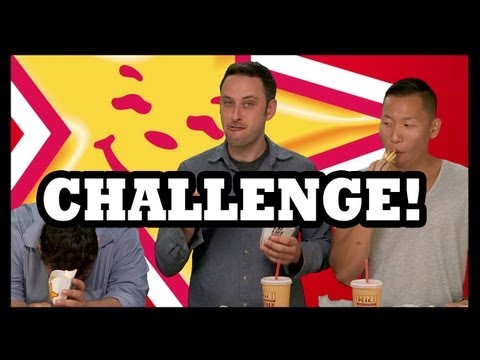 Carl's Jr. 2000+ Calorie Challenge - The Food Feeder