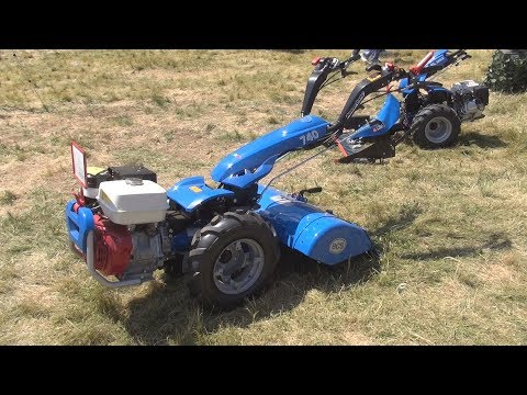 BCS 740 PowerSafe Two Wheel Tractor Exterior and Interior