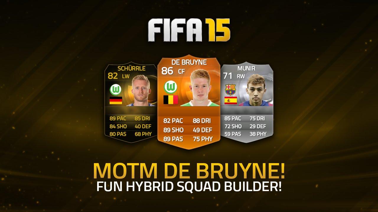 FIFA 15 MOTM De Bruyne Review (86) Gameplay & In