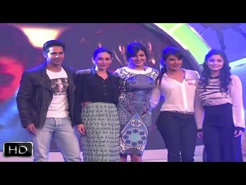 Priyanka - Varun - Alia - Anushka At 'Our Girl Our Pride' Initiative
