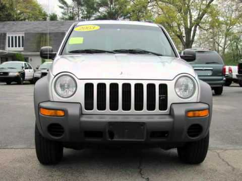2003 Jeep Liberty 4dr Sport 4WD (West Bridgewater, Massachusetts)