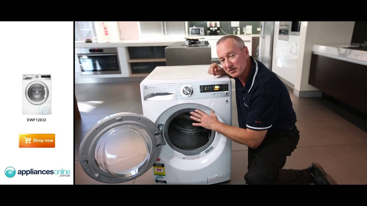 Expert Reviews The 8kg Front Load Electrolux Washing Machine Ewf12832 - Appliances Online
