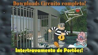 CENTRAL DE INTERTRAVAMENTO TRV-SD , DOWNLOADS CIRCUITO COMPLETO! FREEWARE! - Sistemas de Segurança