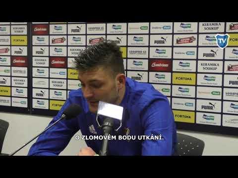 OHLASY / Patrizio Stronati po Plzni (1:2)