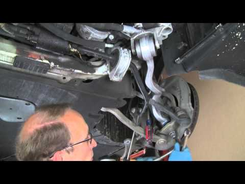 Replacing upper / thrust control arm on late model BMW 5. 6. 7 and X series