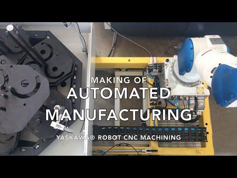 Automated Manufacturing thanks to Yaskawa Motoman® Robot