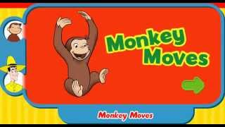 Curious George - Monkey Moves Full Episodes Educational Game [HD] / Creative Commons Reuse Allowed