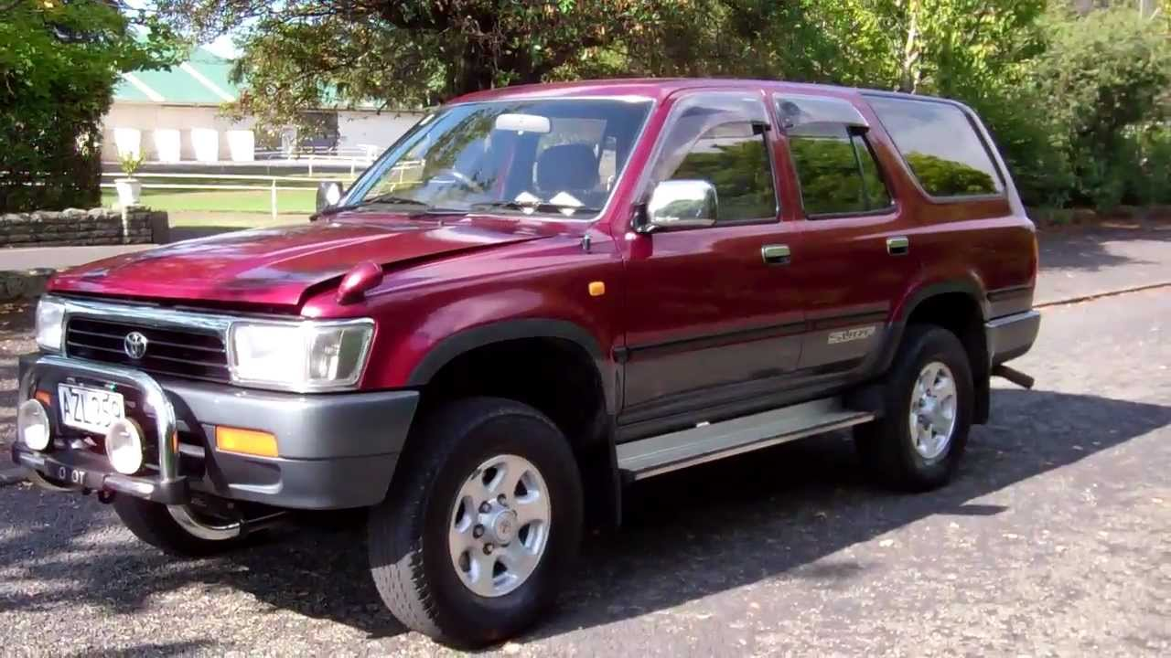 1993 Toyota Hilux Surf Ssr X 1 Reserve Cash4cars