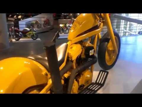 CAT MOTORCYCLE AT Barber Vintage Motorsport Museum IN BIRMINHGHAM ALABAMA