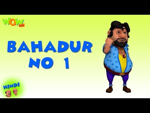 Bahadur No 1 - Motu Patlu in Hindi WITH ENGLISH, SPANISH & FRENCH SUBTITLES thumbnail