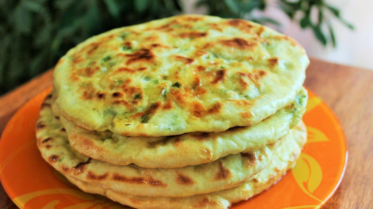 Рецепты сырной лепешки на кефире с фото пошагово