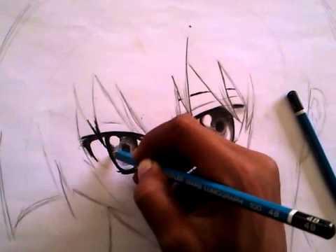 Salinan drawing pensil akame from anime akame ga kill xxx