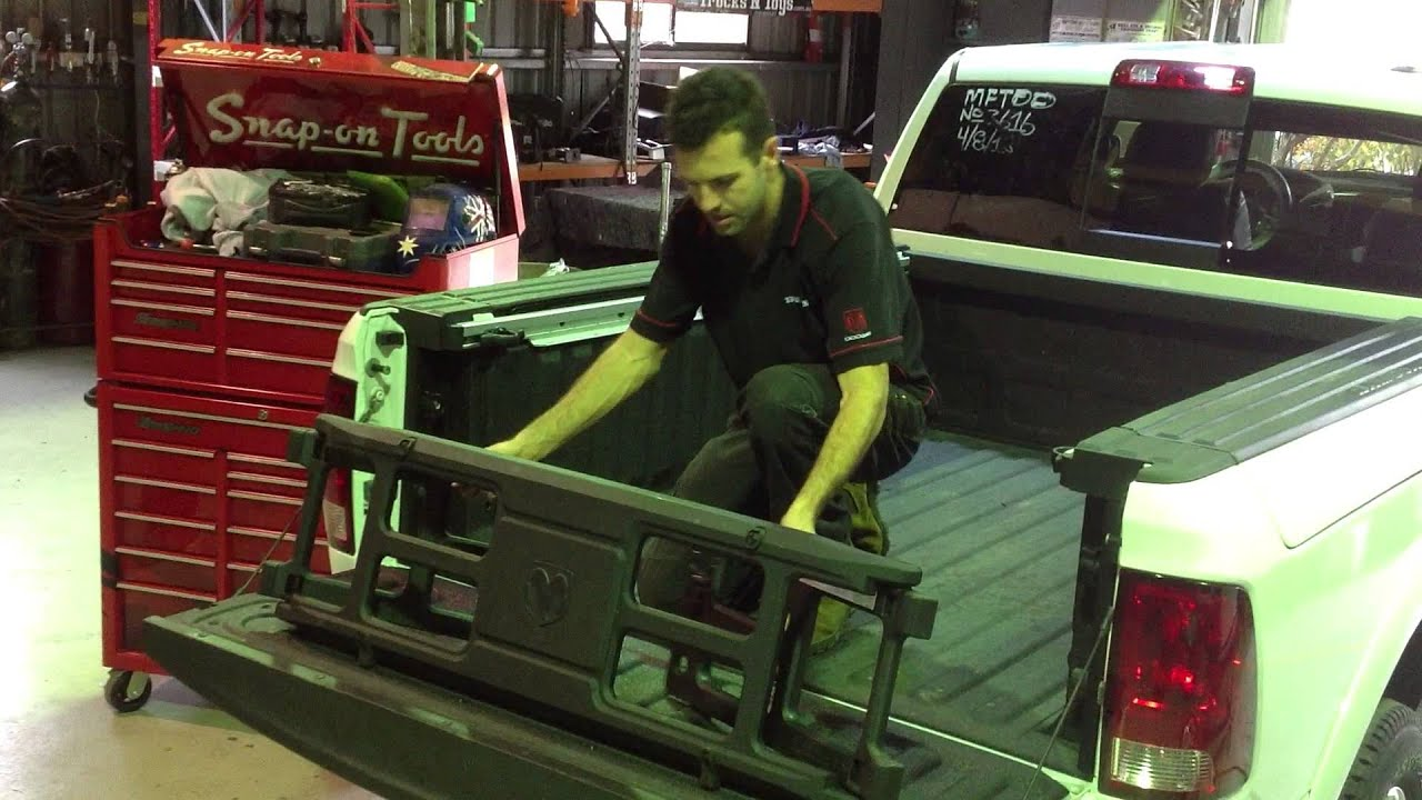 Trucks N Toys Dodge Ram Bed Extender Accessory Youtube