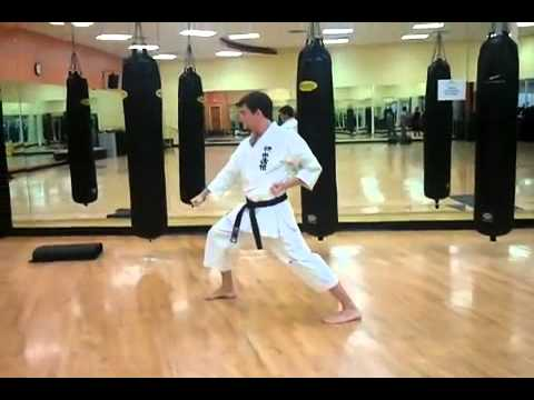 Shotokan Karate Heian Shodan Kata Demonstration On Paulgalenetwork video