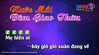 Karaoke Nước Mắt Đêm Giao Thừa