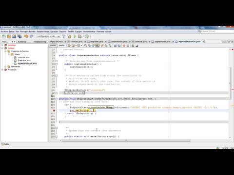 Insertar,Consultar,Modificar y Eliminar datos de una Tabla de MySQL desde Netbeans - Parte 1