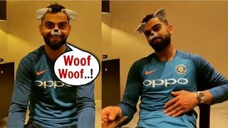 Virat Kohli's  CUTE Puppy Video Will Melt Your Heart