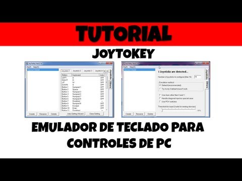 Emulador de teclado para Joystick o Gamepad (JoyToKey)
