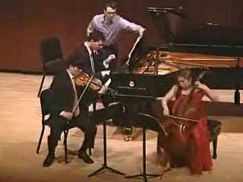 Mendelssohn - Scherzo from D Minor Trio Opus 49