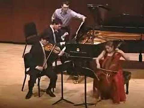 Mendelssohn - Scherzo from D Minor Trio Opus 49