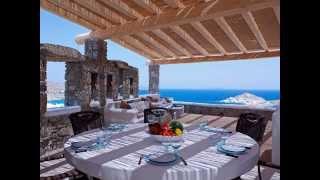 Greece, Mykonos, villa with mystical unlimited sea view