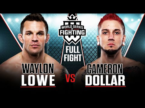 WSOF 2 Waylon Lowe vs. Cameron Dollar