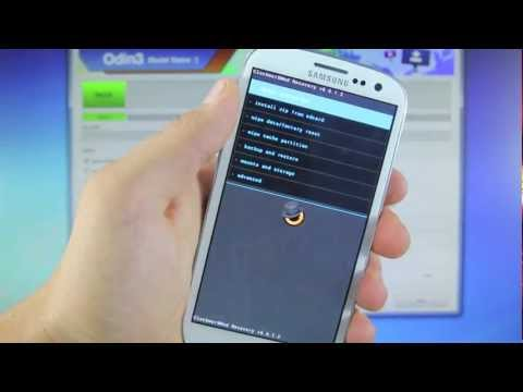 How To Install ClockWorkMod on Samsung Galaxy S3 - Verizon CWM Flash SCH-I535