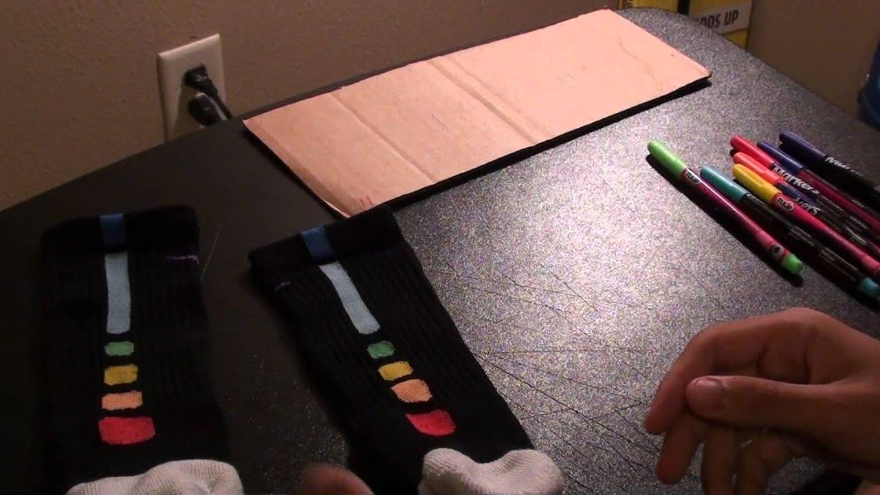 Nike Elite Socks Sharpie Rainbow Nike Elite Socks