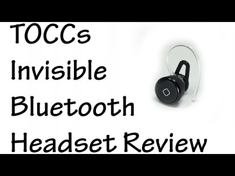 TOCCs Invisible Bluetooth Headset Review