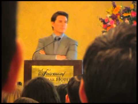 Tom Cruise's Address to Acting School Graduates, 2013 (part 1 of 2)