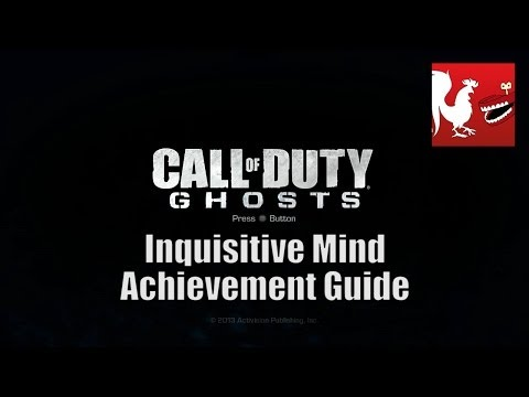 Call of Duty: Ghosts - Inquisitive Mind Achievement Guide