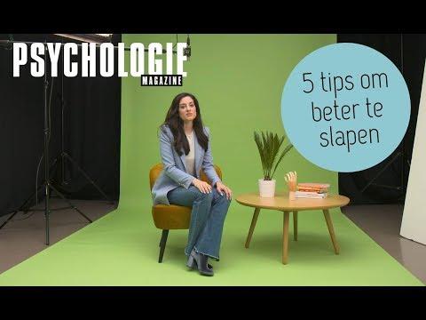 5 tips om BETER TE SLAPEN | Psychologie Magazine