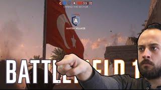 Battlefield 1 (Türkçe) | OSMANLI Kötü Adam? (Tam Sürümü Oynadık!)